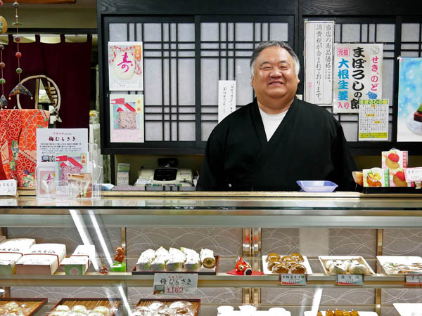"""Feel free to buy just one,"" says third-generation owner Shigeo Miyano."